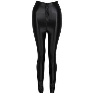 View Item Black Shiny High Waisted Disco Pants